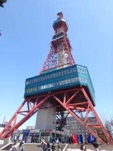 40年ぶりに登ったテレビ塔