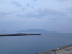 きれいな能古島