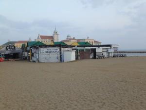 ももち浜公園の砂浜