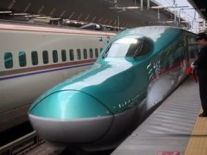 道新幹線より鼻が短い