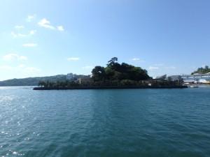 きれいな海と真珠島
