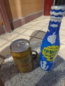日本酒ハイボールが 不思議な味だった