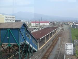 伊達紋別駅のホーム