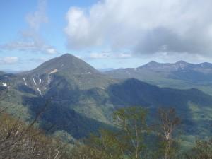 左にオロフレ山 また登りましょう