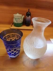 久しぶりの日本酒 いい味だった