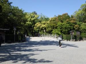 外宮入口の火除橋