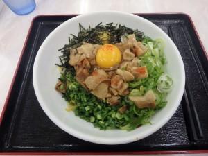 初めて食べた台湾まぜそば 少々辛い