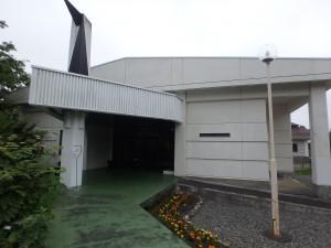 立派な建物の資料館