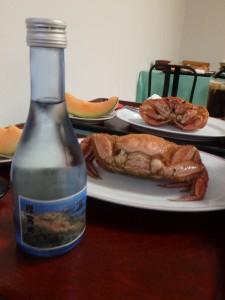 日本酒、襟裳岬  美味