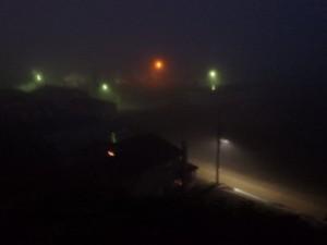 宿の下は霧の海