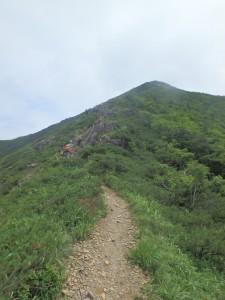 頂上へと道は続く