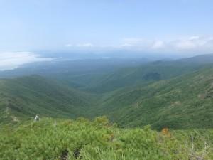 谷が素晴らしい日高の山