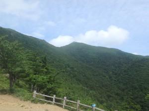 5合目からアポイ岳頂上