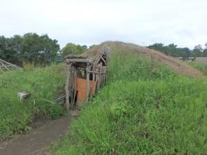 立派な竪穴住居