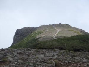 岩の黒岳山頂