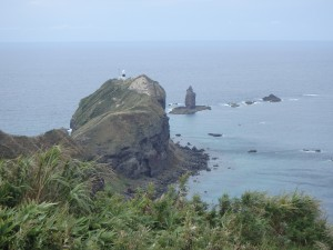 沖に神威岩