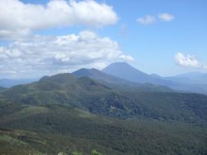 ニセコ連峰が良く見えて 登山日和だった