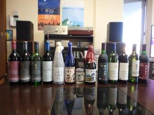 余市のワインを沢山買った