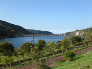 きれいな朝里ダムとオタルナイ湖