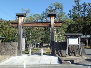 静かな佇まいのお寺