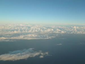 夕刻のきれいな雲
