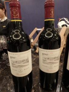 赤ワインで夜が更ける