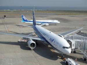 きれいで大きな機体