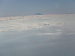 小さく富士山