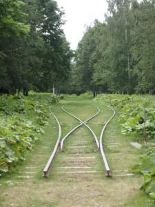 線路が残っていた