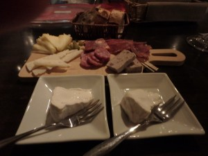 おいしいチーズに満足