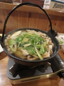 大好きな、きりたんぽ鍋
