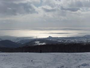 すっきりきれいな冬景色