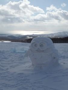 可愛い雪像