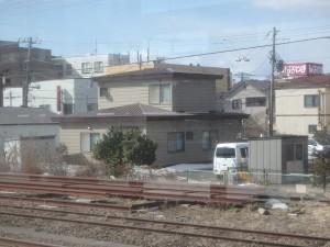 東室蘭駅前の住宅地