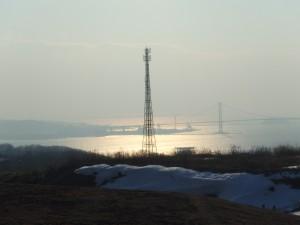 白鳥湾と白鳥大橋