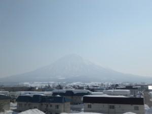 きれいな蝦夷富士