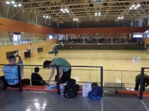 のびのびできた体育館