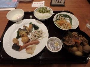 牛肉の「芋煮」が美味!