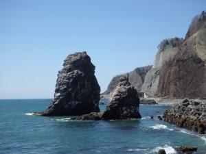 きれいな海岸だった