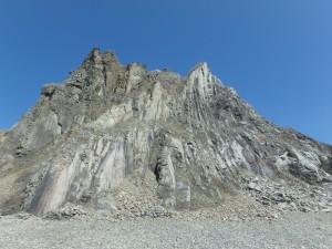 マグマが固まり火成岩になった