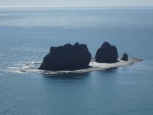 火成岩の親子岩