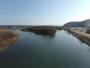 きれいな静内川