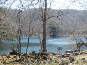 きれいな豊似湖 初めて見た!