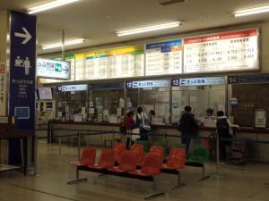 まだ人の少ないターミナル この後徐々に増えた