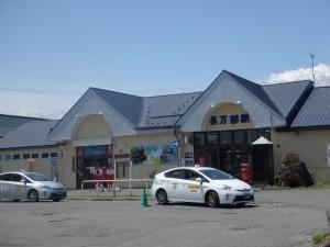 観光案内と売店もあり 充実していた長万部駅