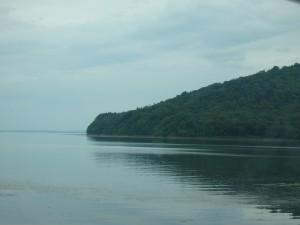 きれいなサロマ湖がわびしい