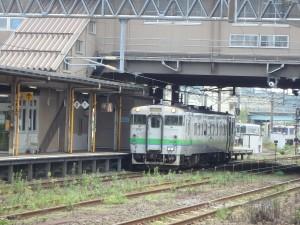 東室蘭駅にて