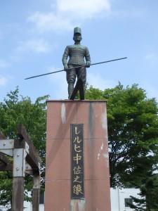 立派なレルヒ中佐の像