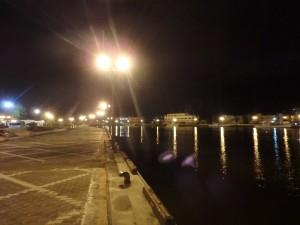 きれいな夜景 でも人はいない