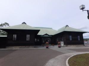 立派な建物の樺戸集治監